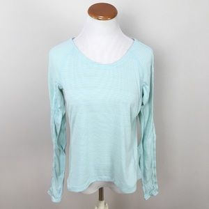 Lululemon Run Silver Lining Long Sleeve Top